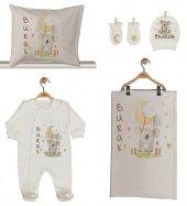 Pia Baby Gl 1911 02 İsme Özel Beşli Tulum Set