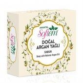 Softem Doğal Argan Yağlı Sabun 130 Gr.