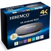 Hıremco Smart 2 4k 8.1 Androıd Box 2gb Ddr3 Ram Dahili Wifi Netfl