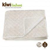 Kiwi 100 Organik Kuzu Yünü Bebek Yatak Pedi (Alez)