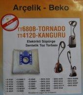 Arçelik Tornado To 4120 To 4125 To 4210 To 5120 Toz Torbası (10 Adet)