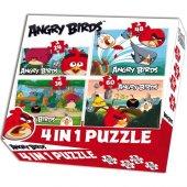 Laço Angry Birds 4lü Puzzle Set 4 Puzzle 1 Arada