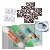 Su Arıtma Cihazı Filtre Takımı Üçlü Yedek Parçalı Set