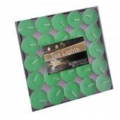 Tealight Yeşil Mum 100 Lü Paket