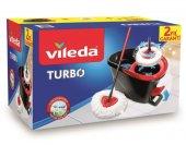 Vileda Turbo Döner Hazneli Pedalı Temizlik Seti