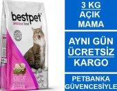 Bestpet Selection Tavuklu Yetişkin Kedi Maması 3 Kg Açık Mama