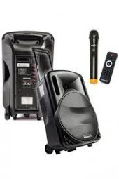Osawa Osw 9130 Taşınabilir Portatif Seyyar Ses Sistemi 125 Watt