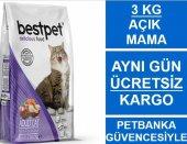 Bestpet Mix (Kuzu Tavuk Somon) Yetişkin Kedi Maması 3 Kg Açık Mama