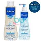 Mustela Banyo Seti (Gentle Şampuan + Physiobebe...