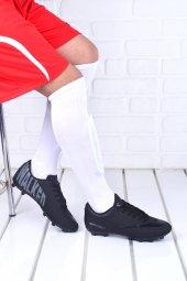Walked 401 Kg Çim Saha Krampon Erkek Futbol Spor Ayakkabı Siyah