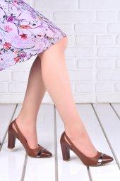 Ayakland 137029 2041 Cilt 8 Cm Topuk Bayan Ayakkabı Taba