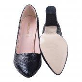 Ayakland 137029-311 32 Pullu 8 Cm Topuk Bayan Ayakkabı SİYAH-5