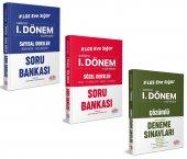 Editör Yayınları LGS Eve Sığar 1. Dönem Sayısal Sözel Soru Bankası ve Deneme Seti