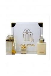 Chloe Love Story Edp 75 Ml + 7.5 Ml Vücut Losyonu 100 Ml Kadın Parfüm Seti
