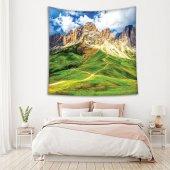 Dağ Orman Manzara Deseni Duvar Örtüsü-2