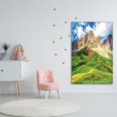 Dağ Orman Manzara Deseni Duvar Örtüsü-3