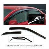 Fiat Egea Parlak siyah Mugen Cam Rüzgarlığı 4lü Set