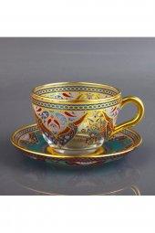 Paşabahçe Elva 6 Kişilik Dekoratif Çay Kahve Fincanı