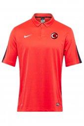 Nike Milli Takım Baskılı Polo Yaka Tişört Turuncu 645538-662
