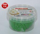Yeşil Renk Şeker Hamuru 1 Adet 200 Gr