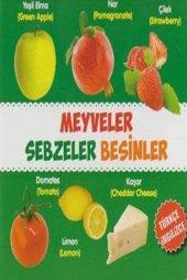 Meyveler Sebzeler Besinler Türkçe İngilizce Kolektif Parıltı Yayınları