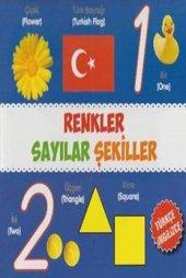Renkler Sayılar Şekiller Türkçe İngilizce Kolektif Parıltı Yayınları