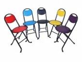 Katlanır Sırtlı Namaz Taburesi Katlanabilir Tabure Piknik Sandalyesi Taşınabilir Tabure