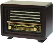 Ahşap Retro Nostaljik  Radyo Laleli Model