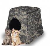 Evcil Hayvan Kedi Köpek Evi Yatağı Minder İç Dış mekan Kulübesi