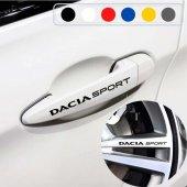Dacia için Kapı Kolu ve Jant Sticker (10 Adet)