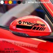 Renault Megane1 içim Ayna Kapağı Sticker (2 Adet)