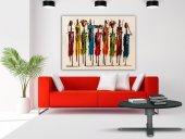 Chic Life Dev Boyut Dekoratif Kanvas Tablo 100x140cm