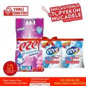 Ezel Premium Beyazlar Ve Renkliler İçin 9 KG Renkli 3 KG Beyaz 4 Adet Ezel Soda