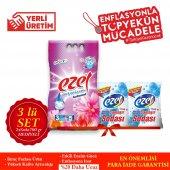 Ezel Premium Ve Renkliler İçin 3 KG 2 Adet Deterjan 4 Adet Ezel Soda