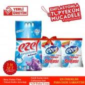 Ezel Premium 1 Beyazlar Ve 2 Renkliler İçin 3 Adet 9 Kg 6 Adet Soda 3+6 SET