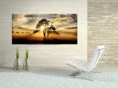 Chic Life Gün Doğumu Dev Boyut Manzara Kanvas Tablo 60x140cm