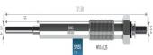 D-MAX 2.5/3.0 02-12 KIZDIRMA BUJİSİ RESCAL  551,95,200