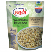 Yayla Hazır Yeşil Mercimekli Bulgur Pilavı 250...