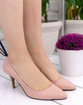 Veran Pudra Cilt Stiletto Ayakkabı