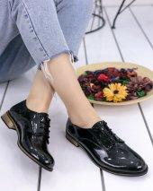 Kelli Siyah Rugan Oxford Ayakkabı