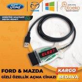 Ford Mazda Arıza Tespit Ve Gizli Özellik Açma Cihazı Els27 Forscan Pic24hj128gp + Ftdi
