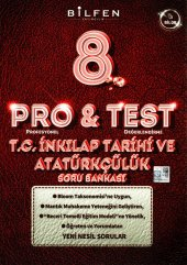 BİLFEN 8. SINIF LGS PRO & TEST İNKILAP TARİHİ SORU BANKASI