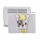 Macbook Pro Kılıf Hard Case A1706 A1708 A1989 A2159 13 İnç Özel Tasarım Kutulu Dog 02nl