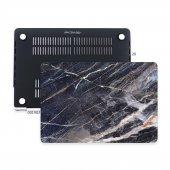 Macbook Pro Kılıf Hard Case A1707 A1990 15 İnç Özel Tasarım Kutulu Marble 06nl