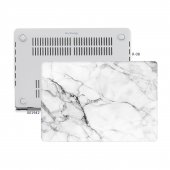 MacBook Pro Kılıf Hard Case A1706 A1708 A1989 A2159 13 inç Özel Tasarım Kutulu Marble 11NL