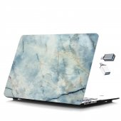 MacBook Pro Kılıf Hard Case A1706 A1708 A1989 A2159 13 inç Özel Tasarım Kutulu Marble 11NL-5