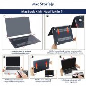 MacBook Pro Kılıf Hard Case A1706 A1708 A1989 A2159 13 inç Özel Tasarım Kutulu Marble 11NL-6