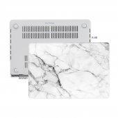 Macbook Air Kılıf Hard Case A1369 A1466 13 İnç Uyumlu Özel Tasarım Özel Kutulu Marble 11nl