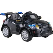 Baby Hope Audi 436 Akülü Araba (Siyah)