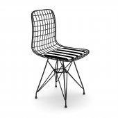 Knsz kafes tel sandalyesi 1 li mazlum syhtuan ofis cafe bahçe mutfak